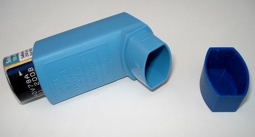 asztma inhalátor
