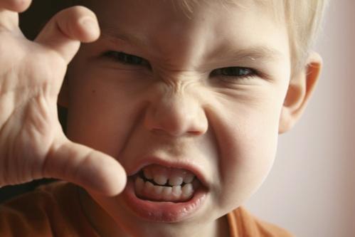 agresszív gyerek