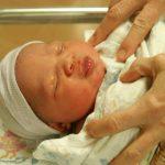 újszülött baba