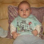 2012.01.01.-én született Nyiregyházán. A legédesebb kisbaba a világon, állandoan mosolyog imádja a tesóit, folyton beszél nekik.