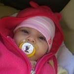 Ajtai Fanni, 6 hónapos