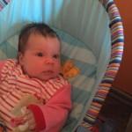 Bakos Hanna Rebeka, 1 hónapos