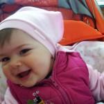 Czini Anna Fruzsina, 9 hónapos