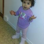 Jasmin, 1 év 2 hónap