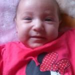 Lakatos Aisa Melani, 4 hónapos