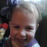 Maja, 2 éves