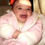 Mezei Aida, 3 hónapos