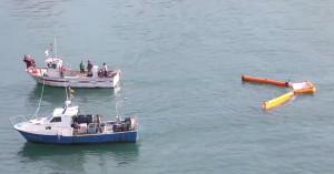 Szemét halászat - Óceán Műanyag Projekt