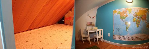 A titkos bunker szoba